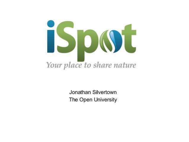 Jonathan SilvertownThe Open University