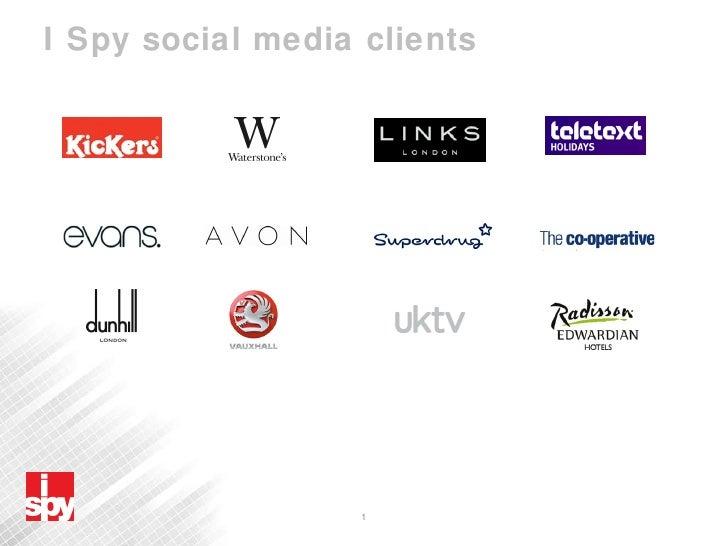 I Spy social media clients
