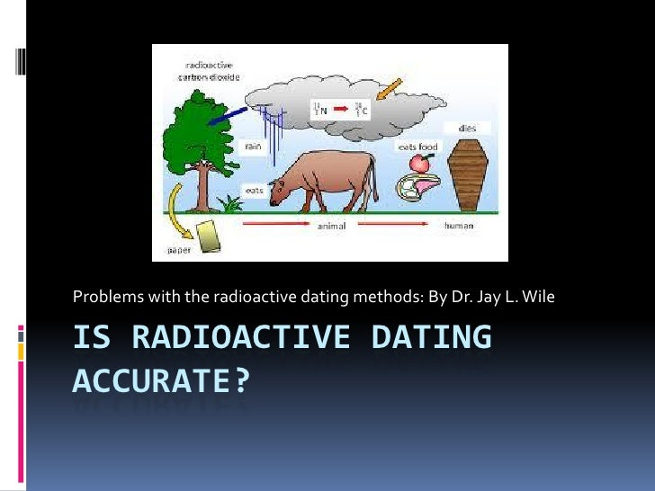 Problems with the radioactive dating methods: By Dr. Jay L. WileIS RADIOACTIVE DATINGACCURATE?