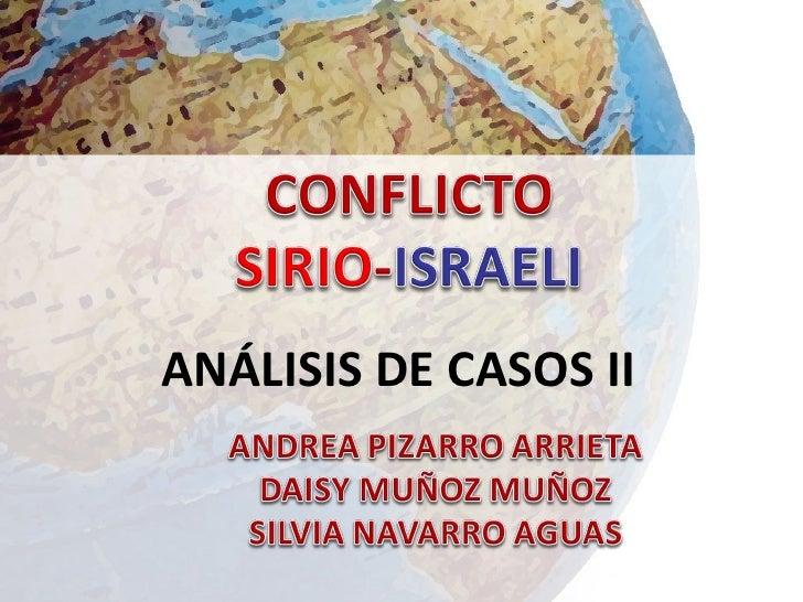 ANÁLISIS DE CASOS II