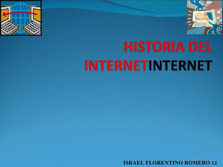 ISRAEL FLORENTINO ROMERO 12