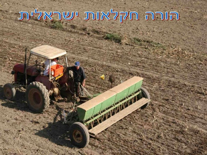 Israel's agriculture from the sky
