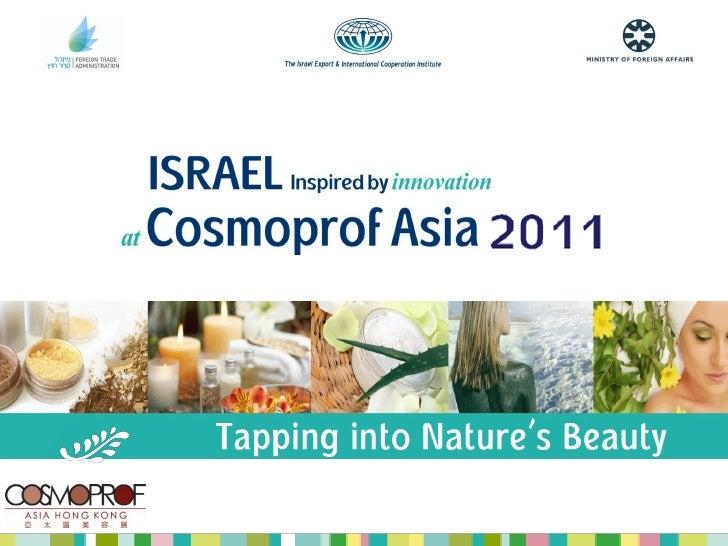 Israel at Cosmoprof Asia 2011