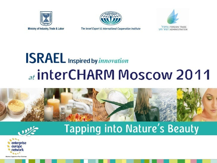 The Israel Export & InternationalCooperation InstituteHelping Israeli Companies Reach Out to the World.Helping the World R...