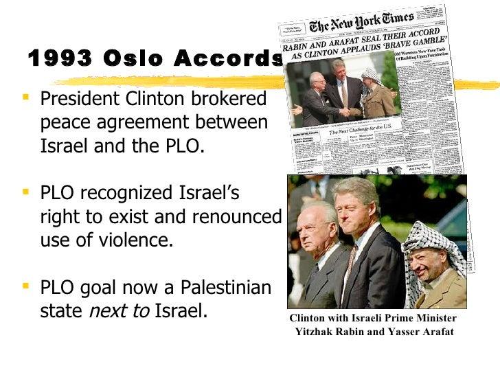 arafat the oslo accords Yitzhak rabin and yasser arafat sign the oslo accords (1993.