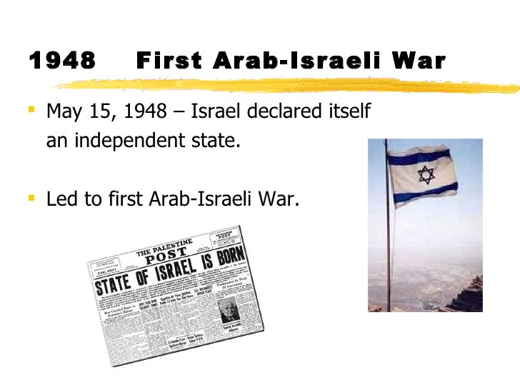 arab israel conflict reaserch paper I cannot conceive of israel withdrawing if arab states do not recognize israel, within secure borders nelson mandela  conflict and violence escalate.