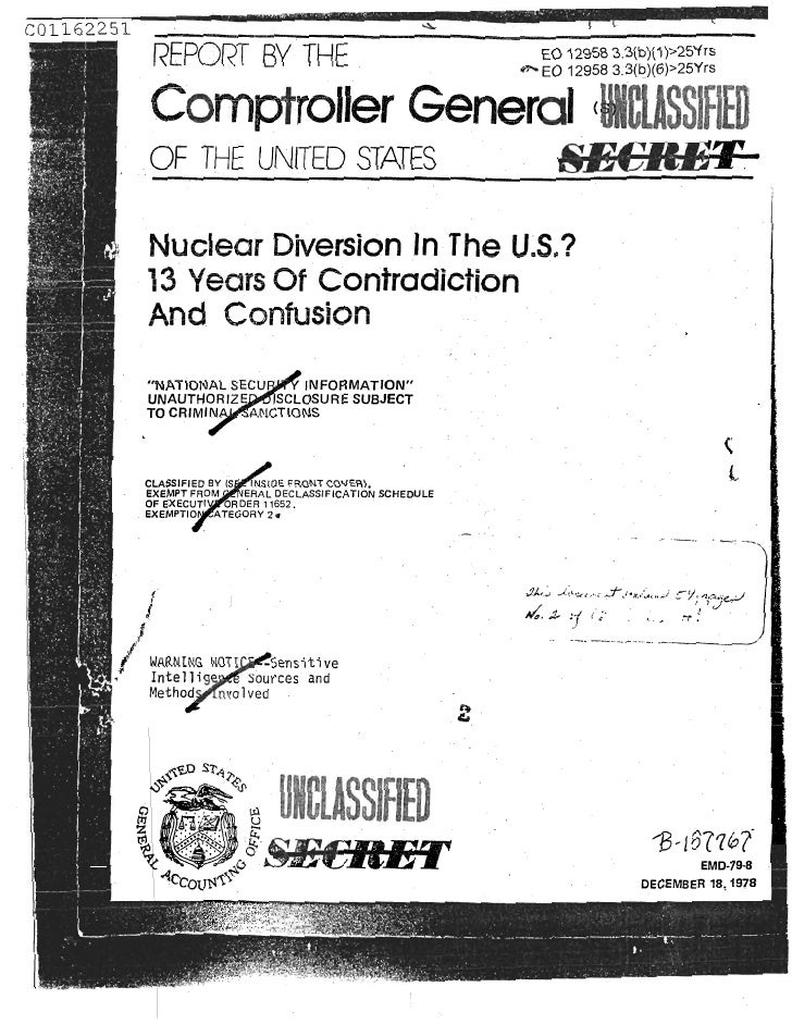 Israel nuclear theft from USA