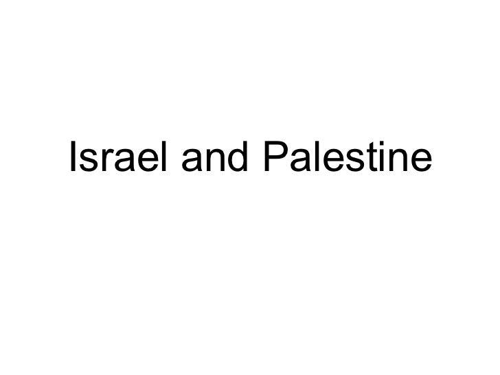 Israel power point presentation
