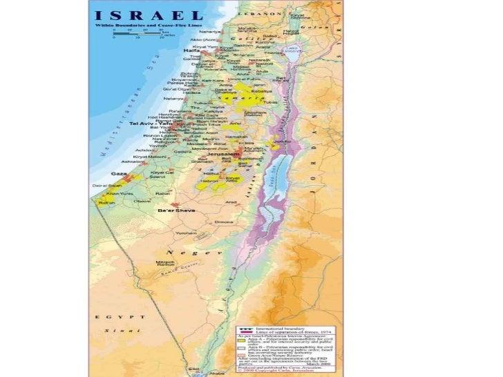 Israel Through Maps - D. Ackerman - Website TEACHERS