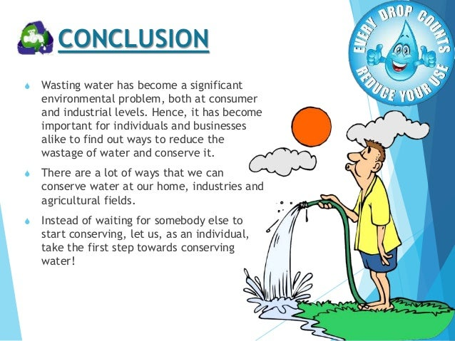 conservation water resources essay