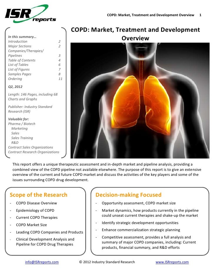 COPD: Market, Treatment and Development Overview       1                                       COPD: Market, Treatment and...