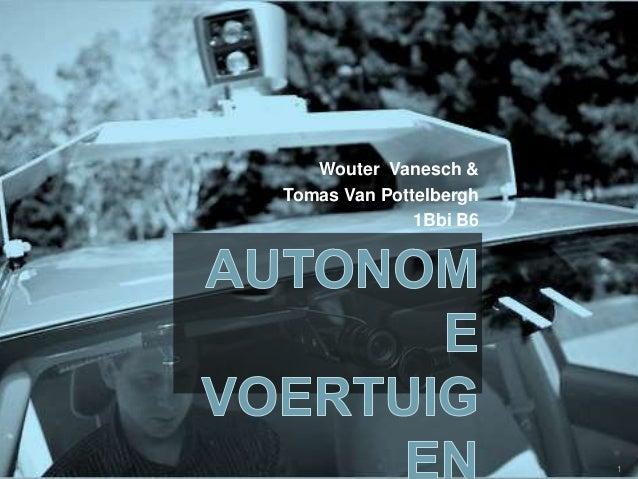 Wouter Vanesch & Tomas Van Pottelbergh 1Bbi B6 1