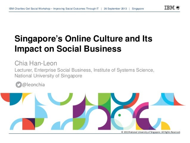 IBM Charities Get Social Workshop – Improving Social Outcomes Through IT | 26 September 2013 | Singapore of 54 IBM Chariti...