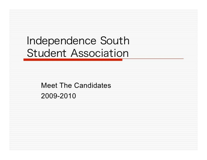 Meet The Candidates 2009-2010