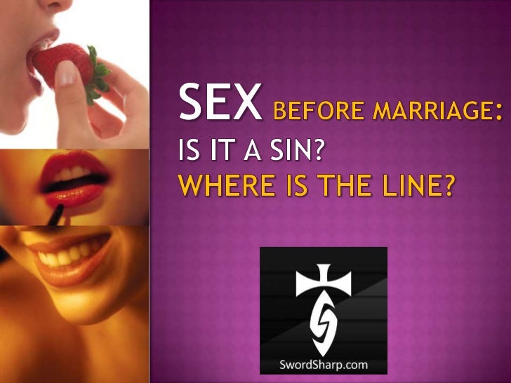 Is Sex Before Marriage Wrong?