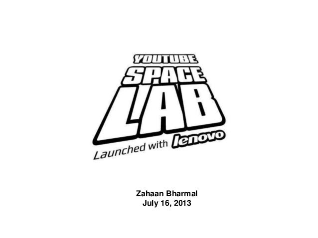 YouTube Space Lab Project