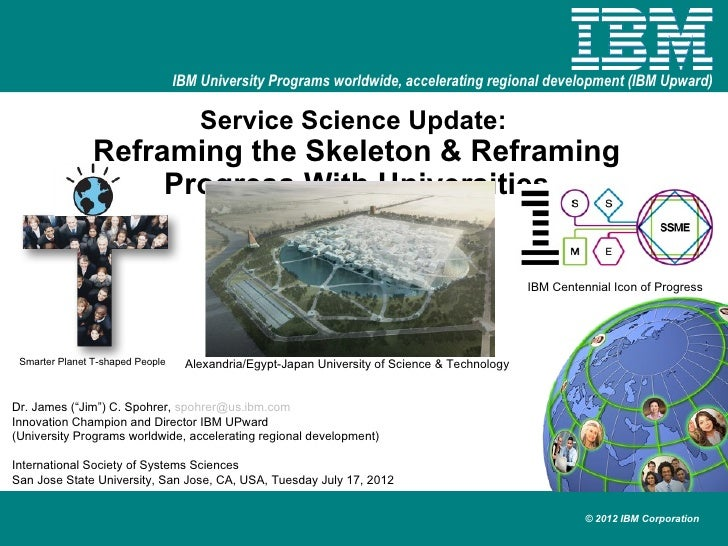 Isss service science reframing skeleton and progress  20120717 v3