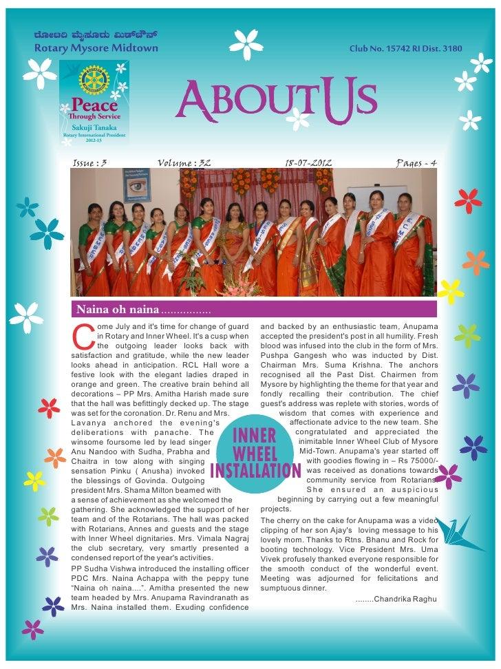 Issue : 3               Volume : 32                          18-07-2012                      Pages - 4 Naina oh naina .......