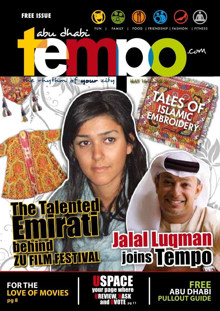 Abu Dhabi Tempo Magazine  (Issue 10)