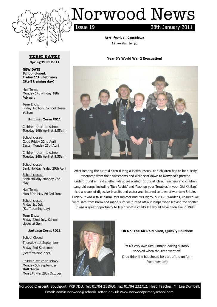 Norwood News                                          Issue 19                                             28th January 20...