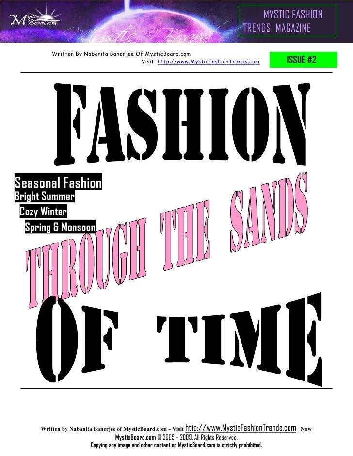 Seasonal Fashion