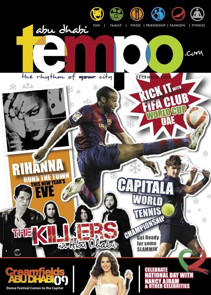 Abu Dhabi Tempo Magazine  (Issue 3)