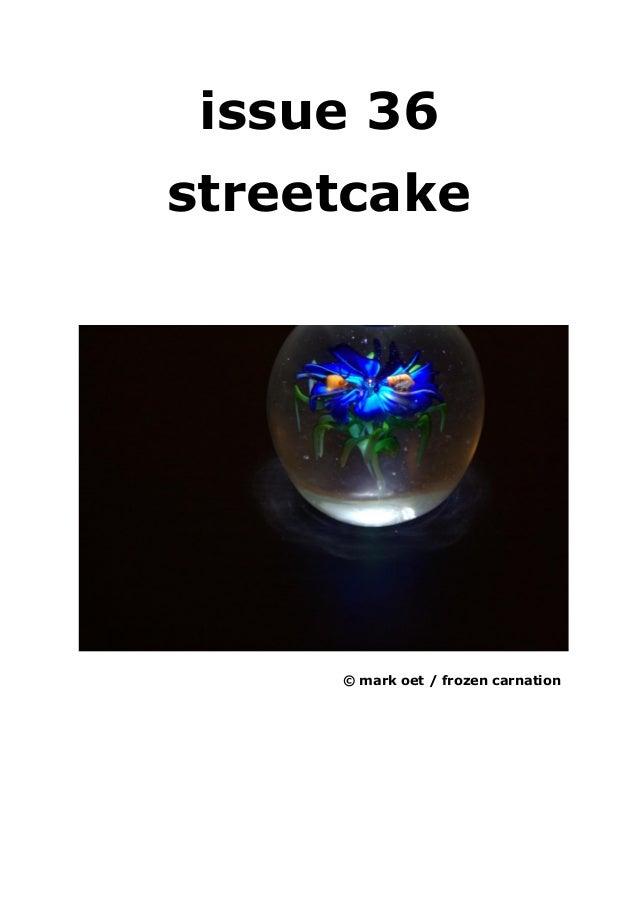 Issue 36 streetcake magazine