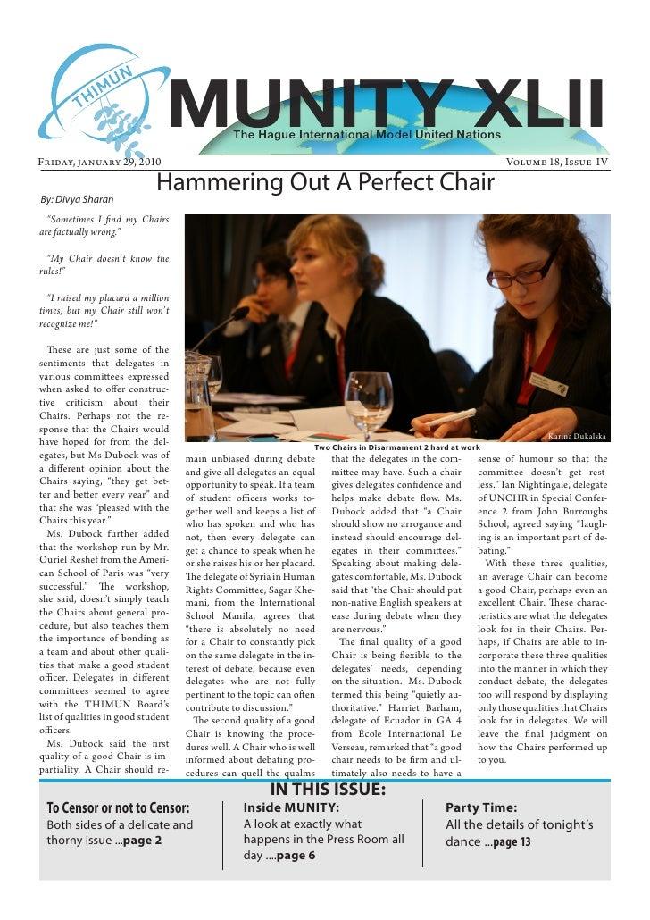 MUNITY 2010 Volume 18 Issue IV