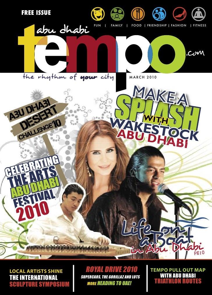 Abu Dhabi Tempo Magazine  (Issue 6)
