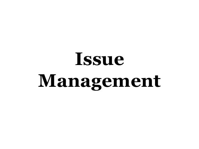 IssueManagement