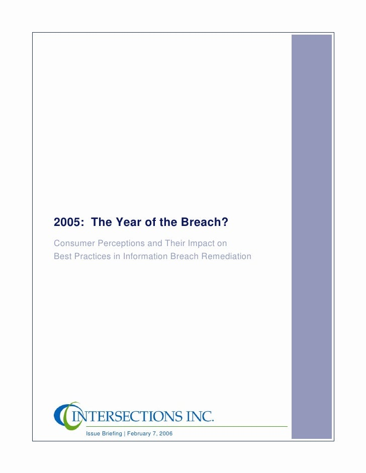 Issue Paper Year Of The Breach Final 021706