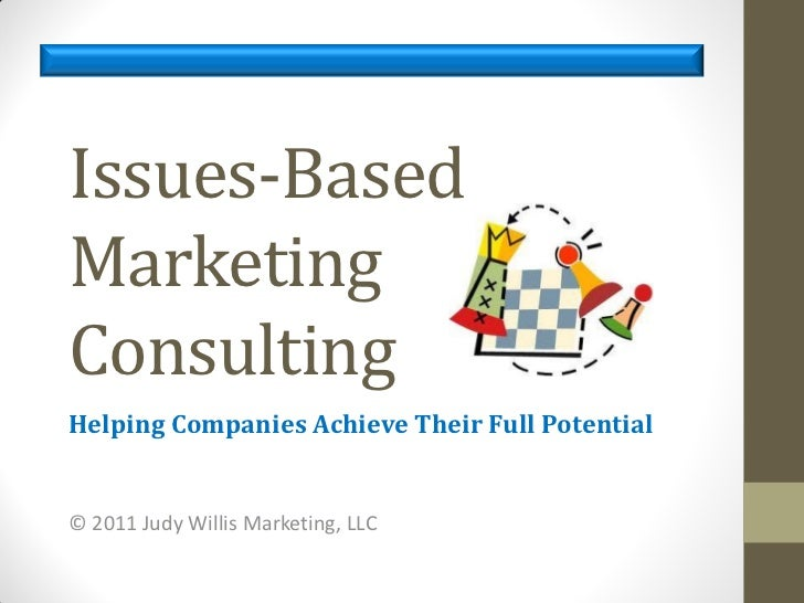 Issues based consulting rde