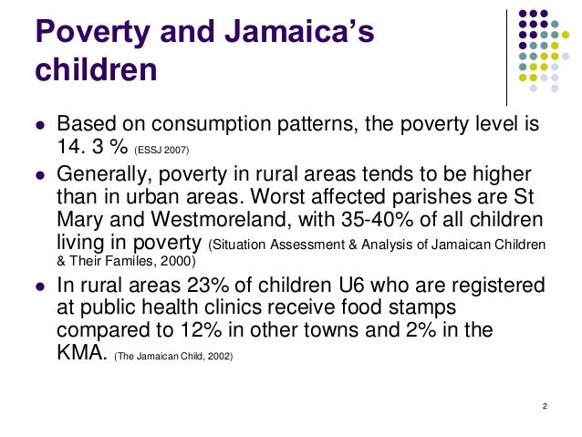 "poverty in jamaica Here's part 3 and final of our exciting ""irrational"" blog series our irrational series explores common questions people may have about those who suffer in poverty in jamaica."