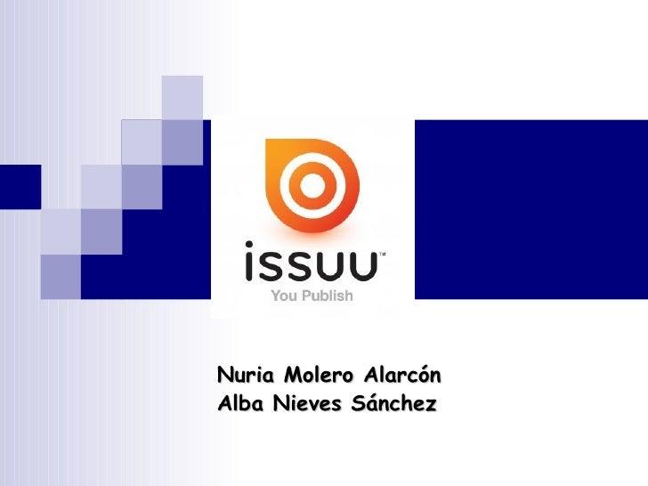 ISSUU Nuria Molero Alarcón Alba Nieves Sánchez