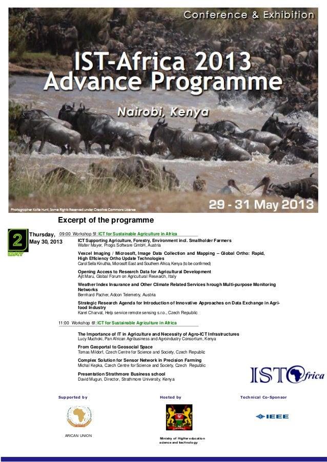 Ist africa 2013.workshop-agenda(1)