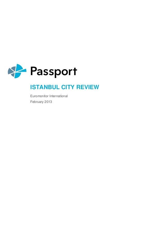 Istanbul report