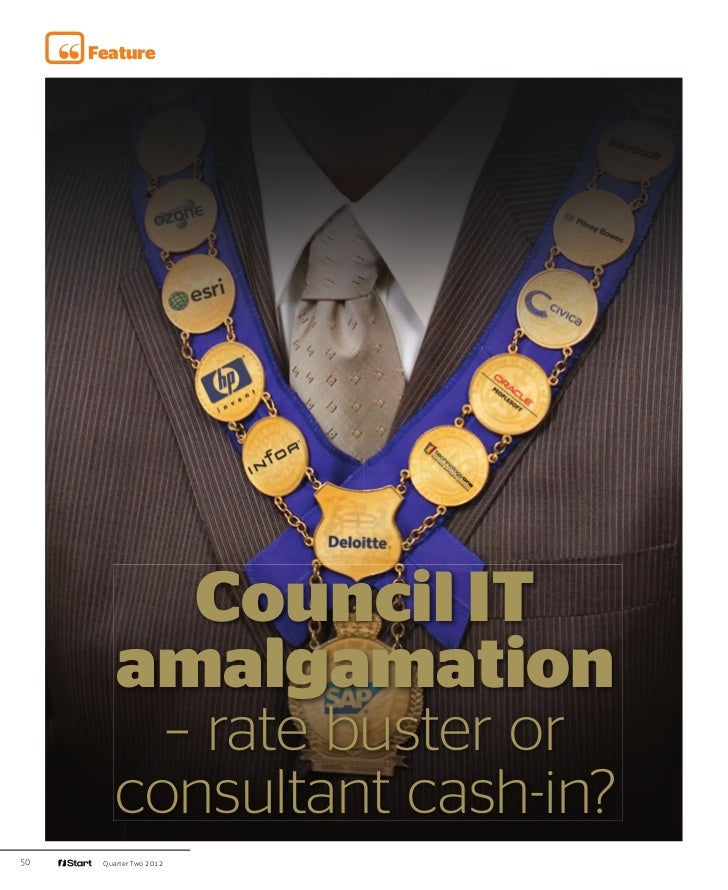 iStart - Council IT Amalgamation - rate buster or consultant cash in?