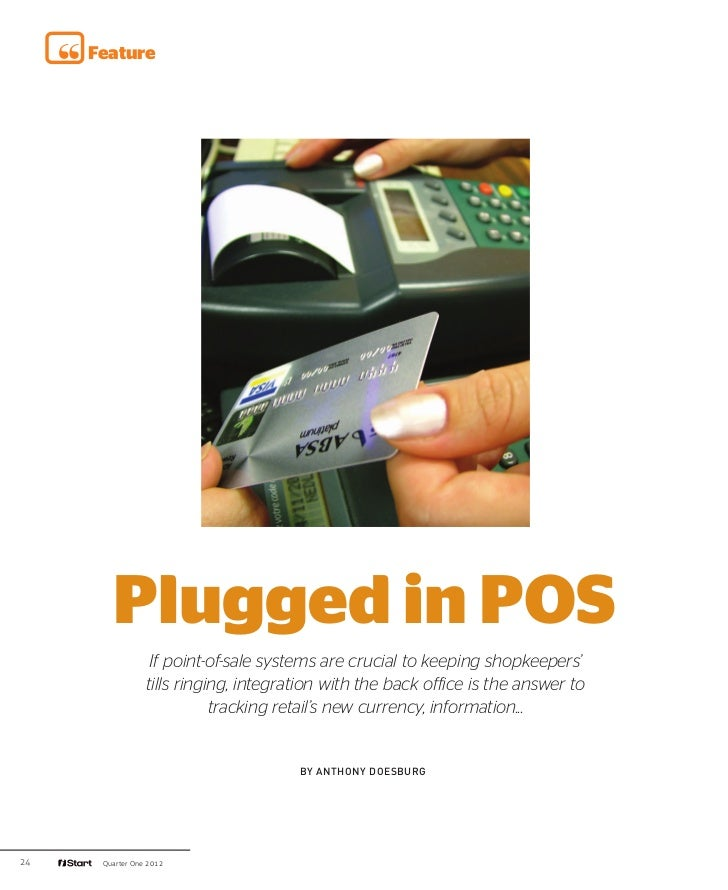 iStart plugged in POS