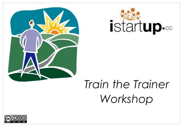 I startup train-the_trainer_workshop