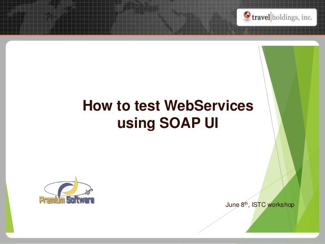 test web services: