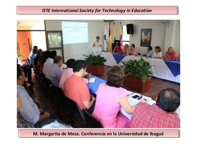 M. Margarita de Meza. Conferencia en la Universidad de IbaguéM. Margarita de Meza. Conferencia en la Universidad de Ibagué...