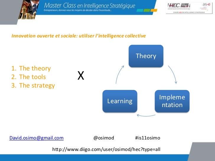 Innovation ouverte et sociale: utiliser l'intelligence collective                                                         ...