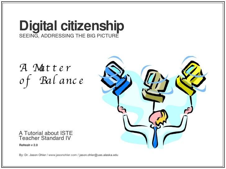 Iste Refresh Digital Citizenship