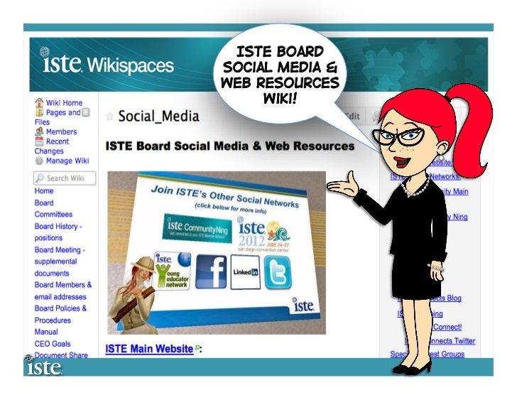 ISTE Social Media 2012