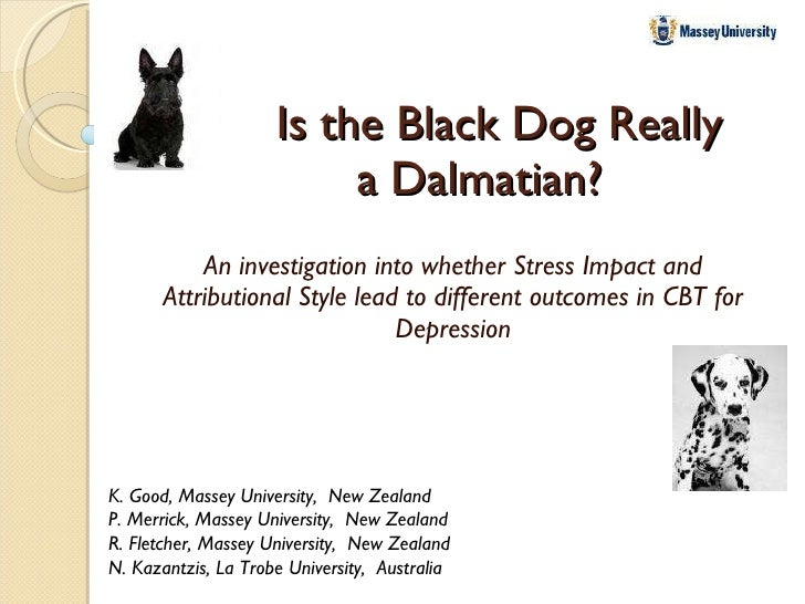 Is the black dog really a dalmatian, Kimberly Good
