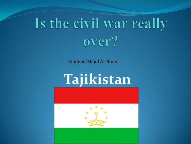 Tajikistan Civil War