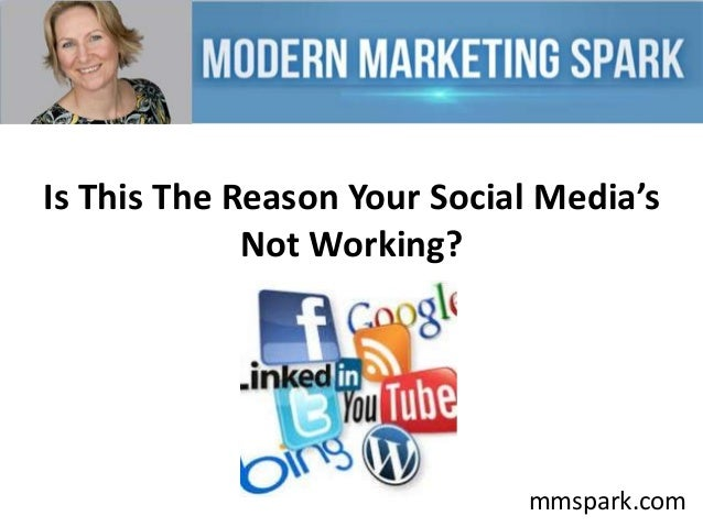Is This The Reason Your Social Media's Not Working?  mmspark.com