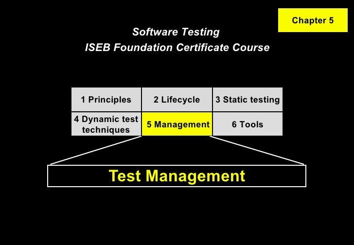 ISTQB / ISEB Foundation Exam Practice - 5