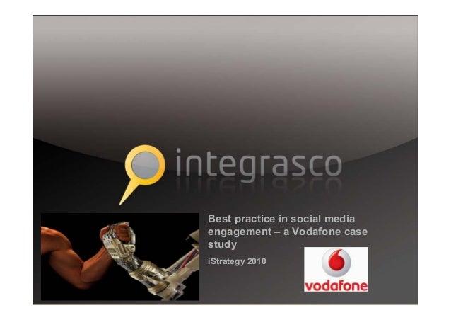 Vodafone Social Media Engagement Case Study | Intergrasco | iStrategy London