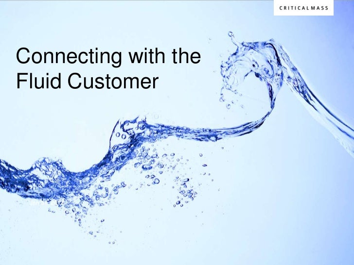 Connecting with the Fluid Consumer: iStrategy 2012